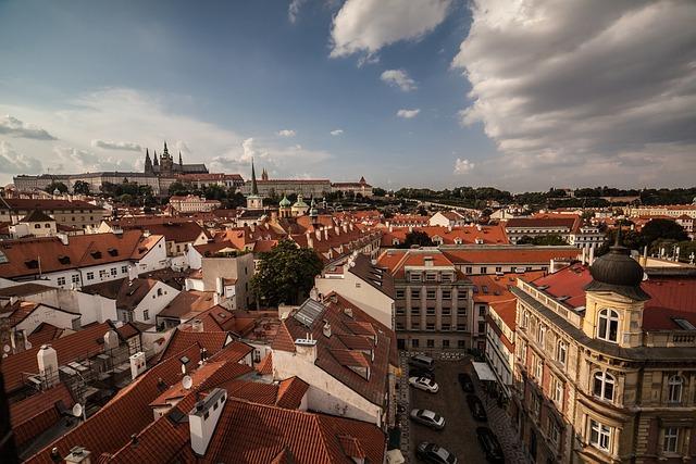 Prague, Prague Castle, Czech Republic, City, Castle