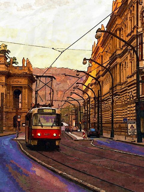 Good, Morning, Prague, Outdoor, City, Urban