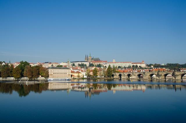 Prague, Moldova, Prague Castle, Charles Bridge, Bridge