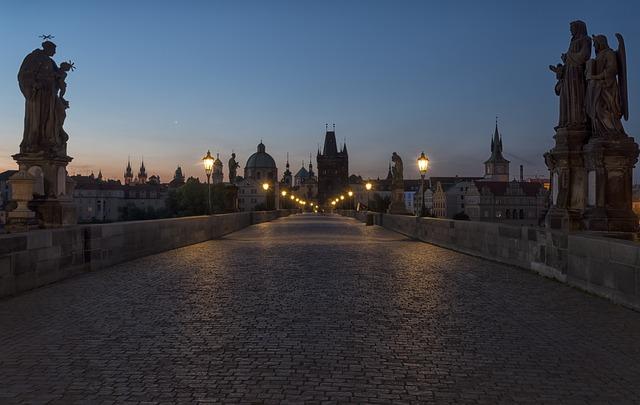 Prague, Charles Bridge, Historically, City, Old Town