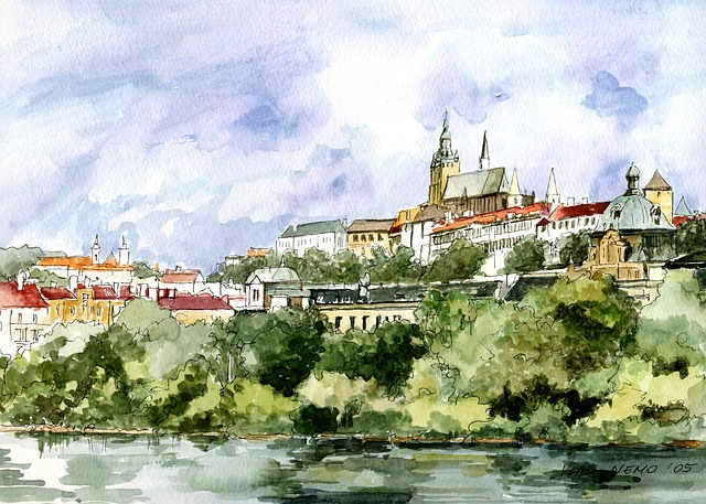 Architecture, Prague, Panorama