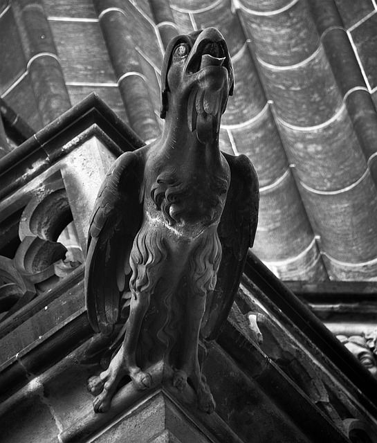 Gargoyle, St Vitus Cathedral, Prague, Gothic