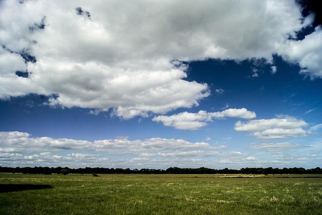 Nature, Sky, Outdoor, Landscape, Prairie, Summer, Cloud