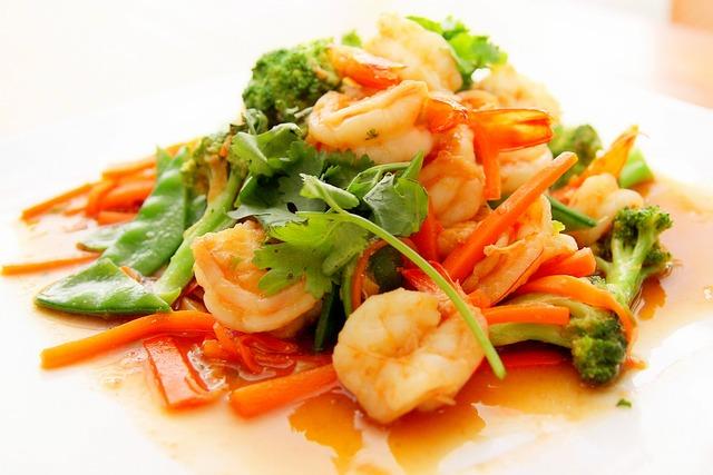 Food, Prawn, Asian