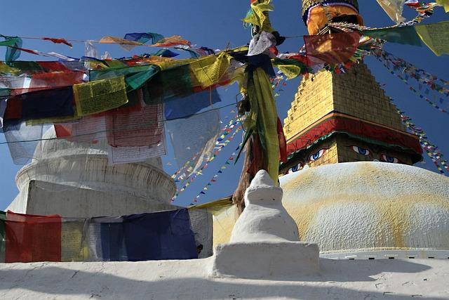 Prayer Flags, Nepal, Kathmandu, Buddhism, Stupa