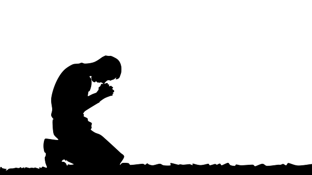 Prayer, Praying Man, Illustration, Religious