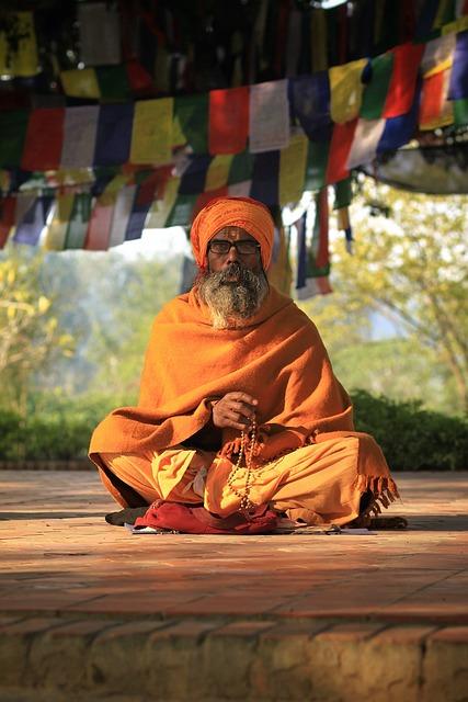 Priest, Prayer, India, Religion, Hermit, Buddhism