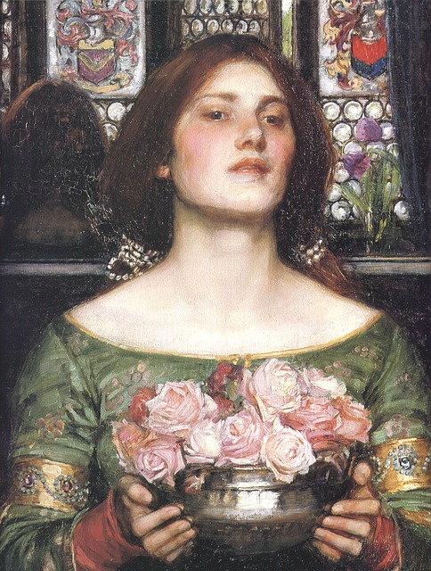John, William Waterhouse, Pre-raphelite, Victorian, Art