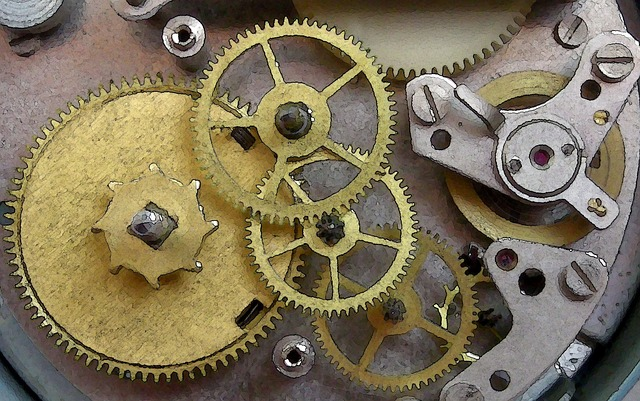Clock, Mechanism, Gears, Old Technology, Precision