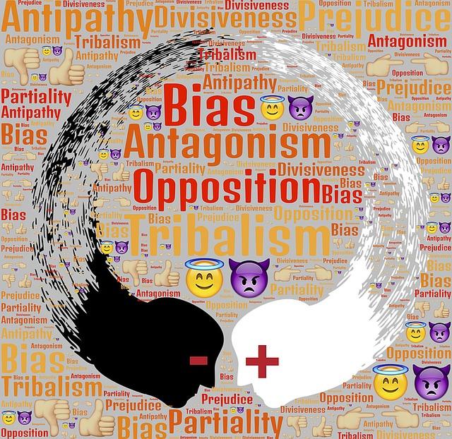 Tribalism, Antagonism, Opposition, Bias, Prejudice