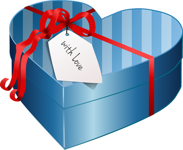 Box, Gift, Love, Valentines, Romantic, Present, Ribbon