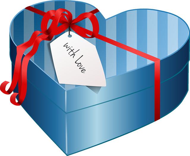 Box, Gift, Love, Valentines, Romantic, Present, Ribbon