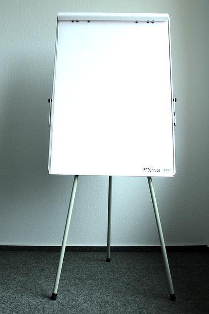 Present, Flipchart, Board, Label, Leaf, Presentation
