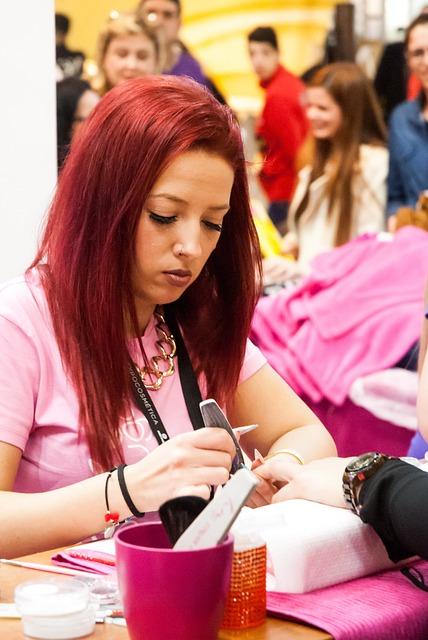 Expocosmética, Young, Presentation, Model, Gel Nails