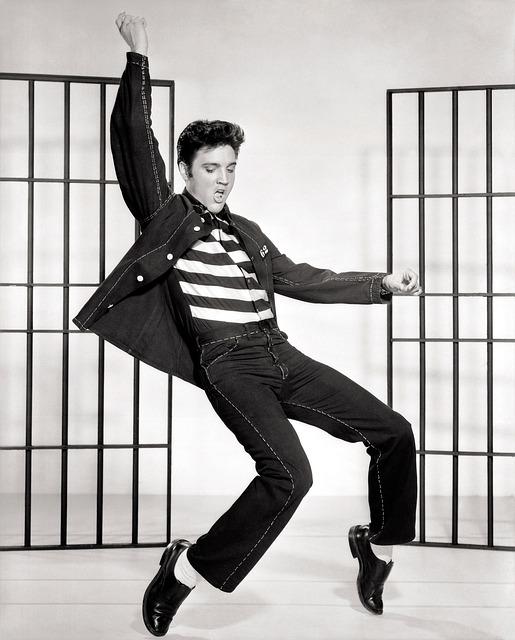 Elvis, Presley, Jailhouse Rock, Dancing, Celebrity