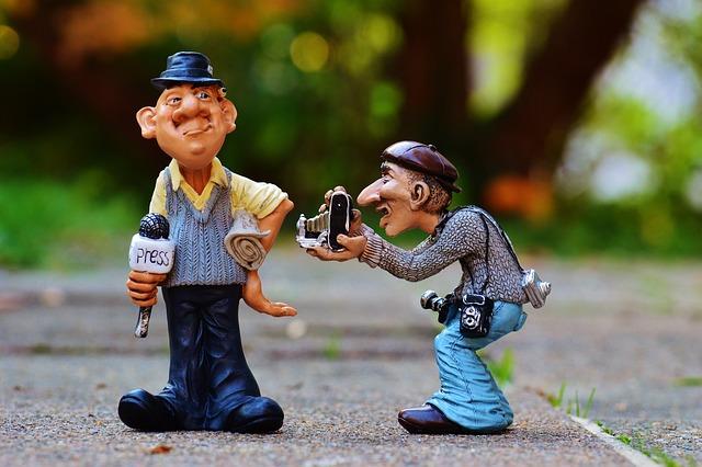 Press, Journalist, Photographer, News, Headlines