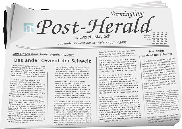 Newspaper, Paper, Print, Press, News, Media