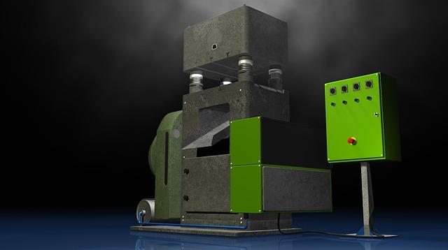 Press, Stanze, Industry, Manufacturing, Nostalgic, Old