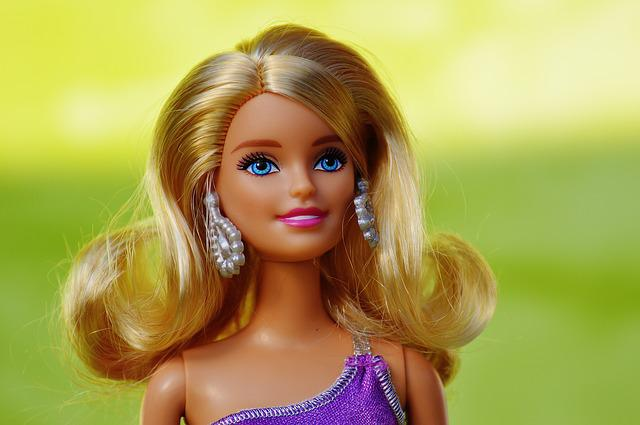 Beauty, Barbie, Pretty, Doll, Children Toys, Doll Face