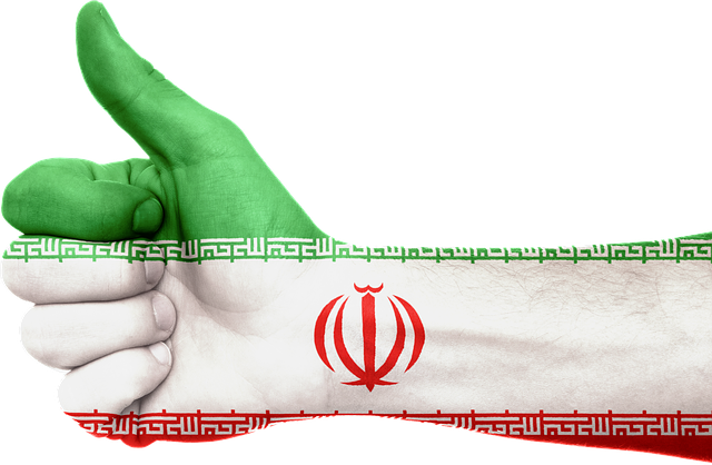 Iran, Flag, Hand, National, Pride, Thumbs Up