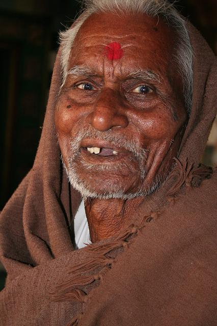 Priest, Face, Rajasthan, Religion, India, Travel