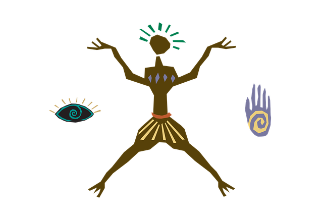 Clipart, Primitive, Human, Simplified, Early Stage