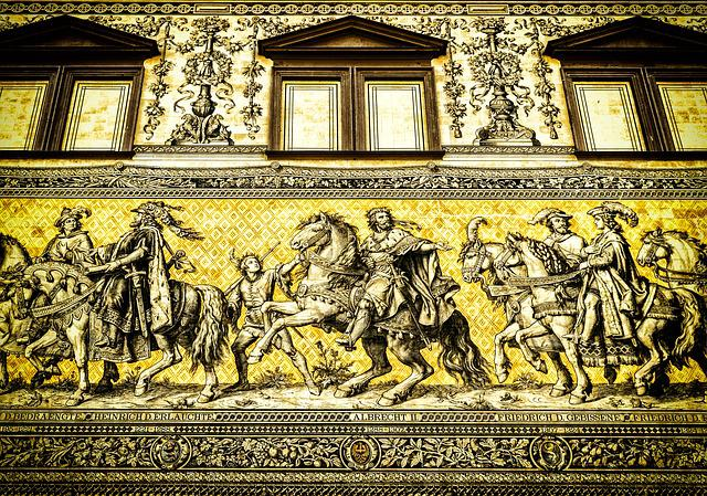 Dresden, Saxony, Old Town, Landmark, Princes