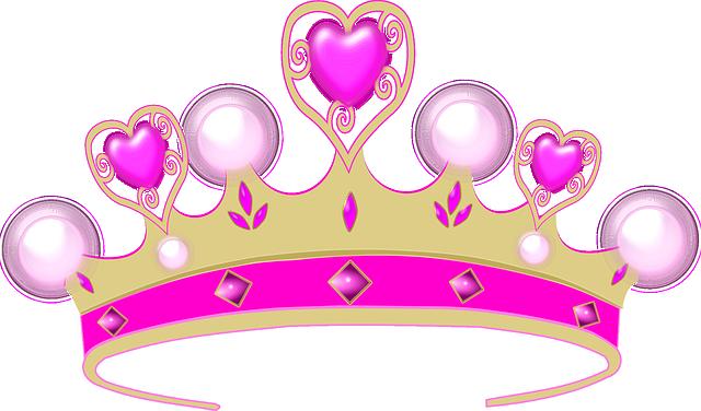Coronet, Princess, Crown, Tiara, Diadem, Hearts