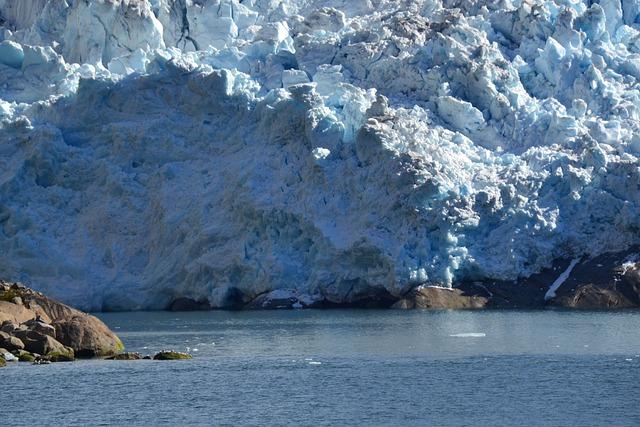 Glacier, Prins Christian Sound, Greenland