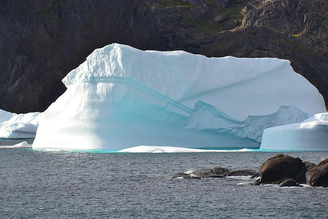 Prins Christian Sund, Greenland, At Sunshine