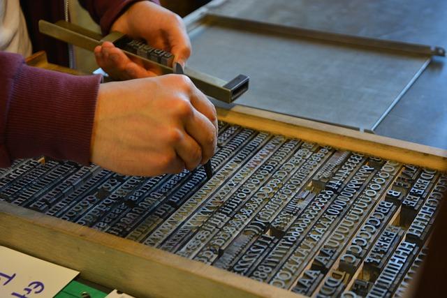 Technology, Pressure, Lead Set, Printing, Barmbek