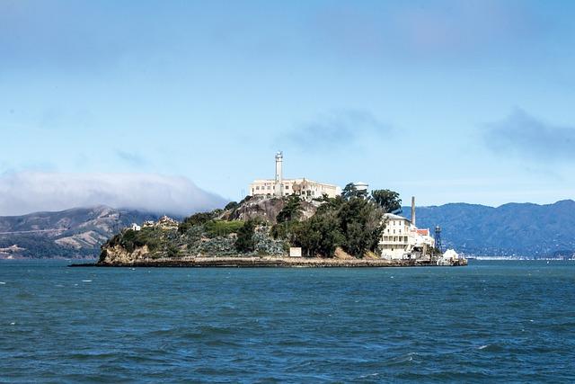 Alcatraz, San Francisco, Island, Prison, Sea, Usa