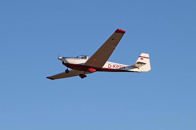 Aircraft, Motorsegler, Air Sports, Probeller Machine