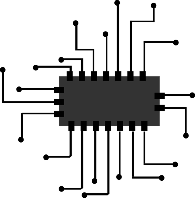 Chip, Icon, Micro, Processor, Vector, Computer, Cpu