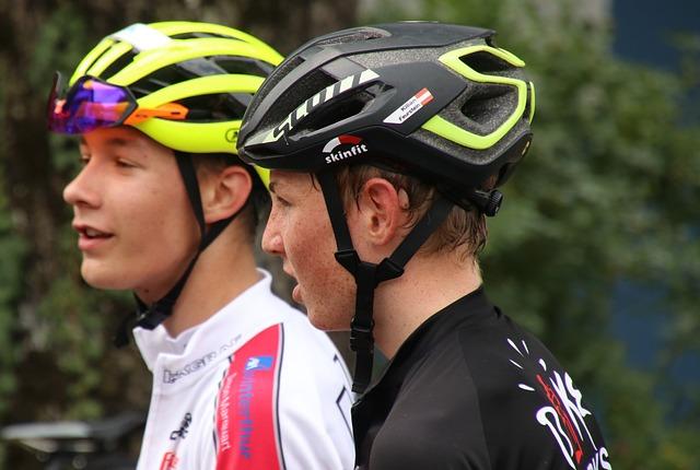 Professional Road Racing Cyclist, Cyclist, Helmet