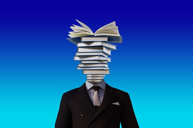 Books, Man, Person, Businessman, Teacher, Professor