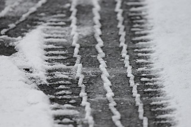 Tire Tracks, Snow, Mature, Profile, Winter Tires