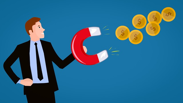 Earn, Money, Work, Online, Profits, Cartoon Character
