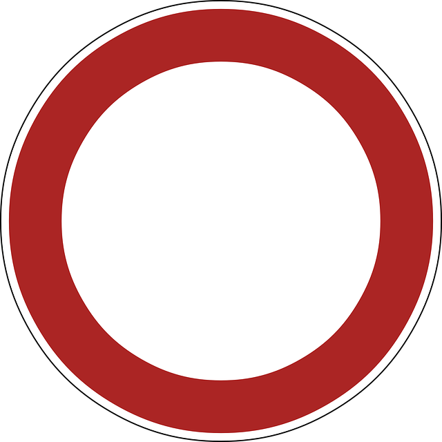 Sign, No Vehicles, Prohibited, Symbol, Forbidden, Cars