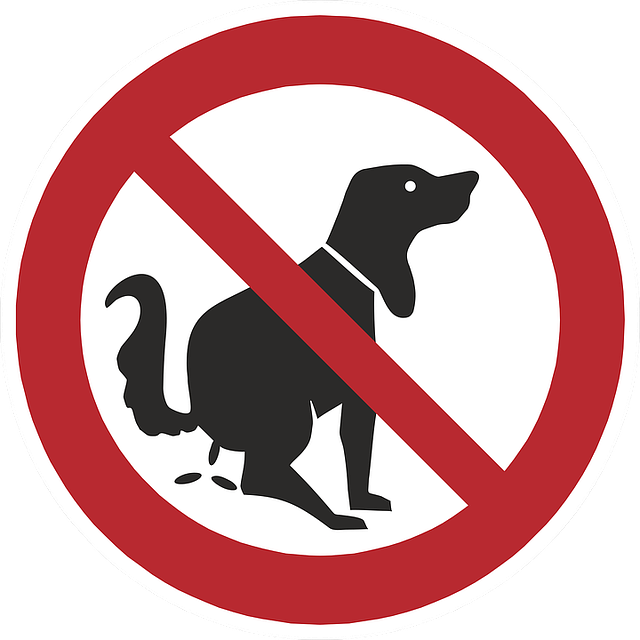 Shield, Ban, Prohibitory, Prohibited, Note, Dog Feces