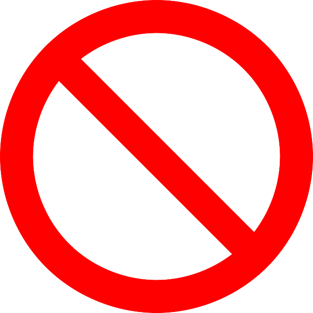 No Symbol, Prohibition, Sign, Prohibited, Symbol