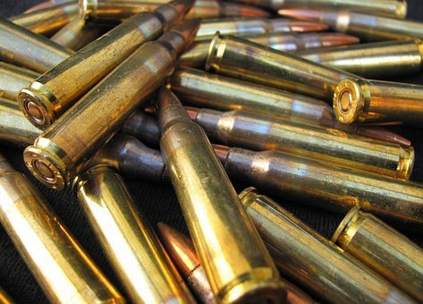 Bullets, Shooting, Projectile, Firing, Weapon