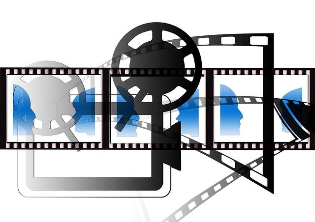 Demonstration, Projector, Movie Projector, Cinema, Film