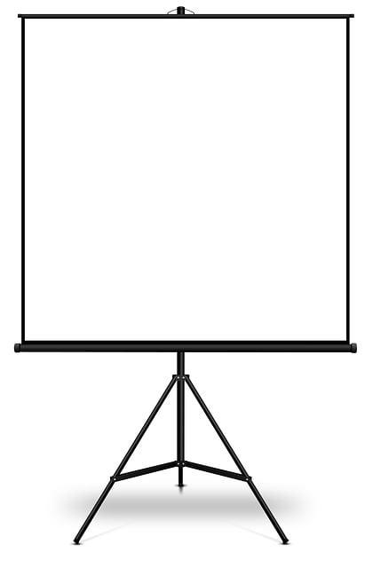 Screen, Projector, Tripod, Business, Presentation
