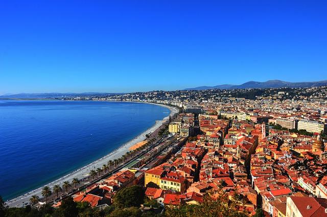 Nice, Promenade Des Anglais, Côte D'azur, France
