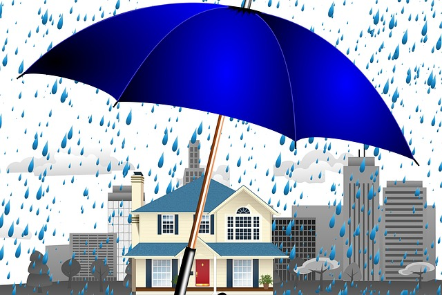 Home, Property, City, Skyline, Background, Rain