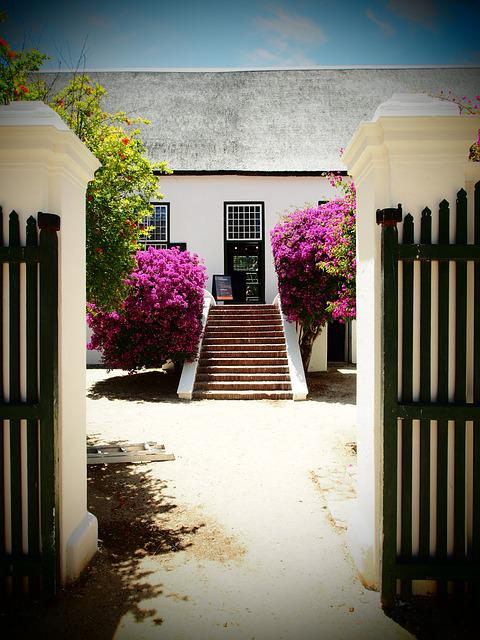 South Africa, Winery, Stairs To House, Property