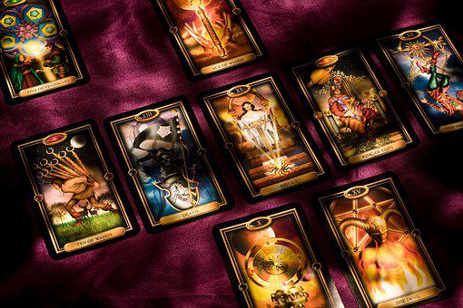 Tarot, Cards, Card, Prophecy, Dark, Light, Shadows