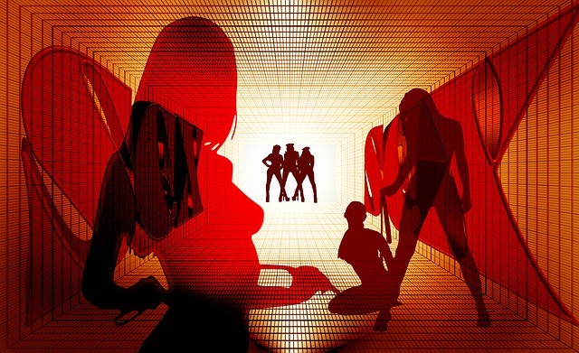 Women, Light, Night, Lighting, Prostitution, Red, Sex