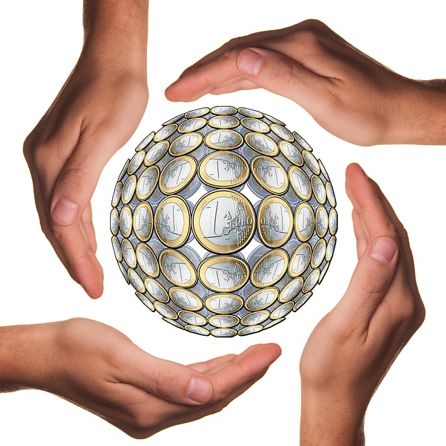 Ball, Protect, Hands, Euro, Hand, Currency, Money